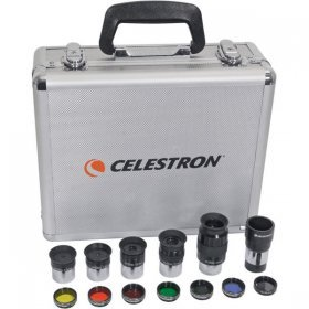 Набор окуляров и фильтров Celestron, 1,25