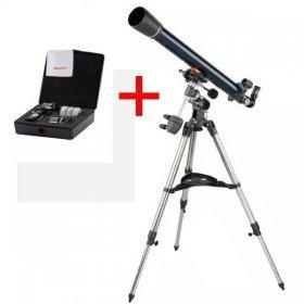 Телескоп Celestron AstroMaster 70 EQ + Набор аксессуаров АstroMaster