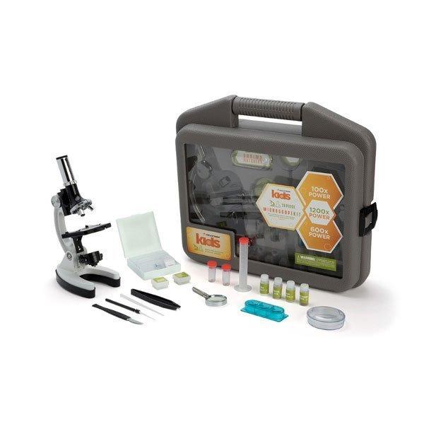 Учебный микроскоп Celestron в кейсе